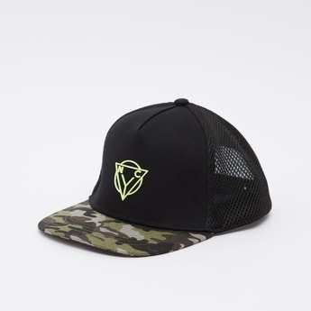 Printed Cap with Snap Closure