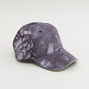 Printed Cap with Hook and Loop Closure