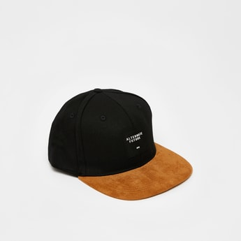 Solid Cap with Snap Closure