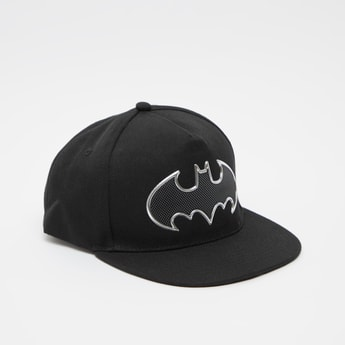Batman Logo Embossed Print Cap