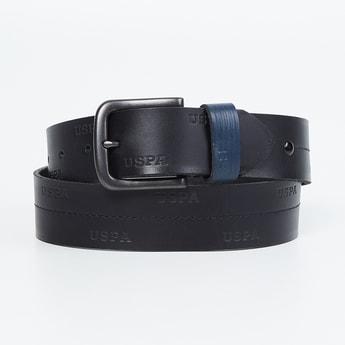 U.S. POLO ASSN. Men Genuine Leather Casual Belt