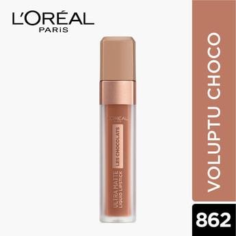 L'OREAL PARIS  Les Chocolats Ultra Matte Liquid Lipstick
