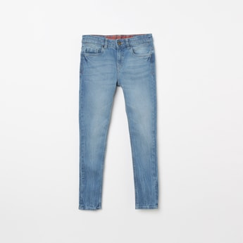 FAME FOREVER YOUNG Stonewashed Skinny Fit Jeans
