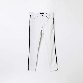 FAME FOREVER YOUNG Solid Skinny Fit Jeans