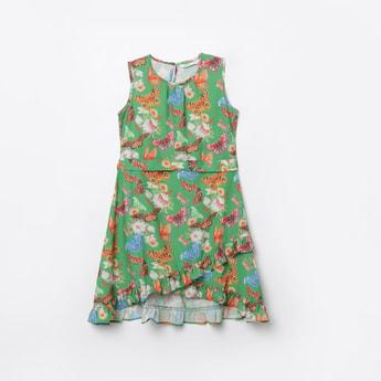 BOSSINI Printed A-line Dress