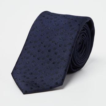 CODE Woven Design Broad Tie