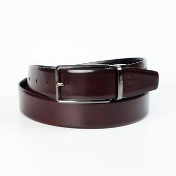 ALLEN SOLLY Men Solid Reversible Casual Belt