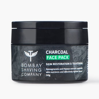BOMBAY SHAVING COMPANY Charcoal Face Pack-50 gm