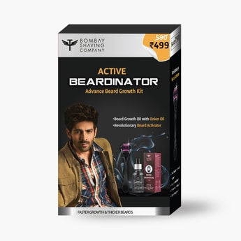 BOMBAY SHAVING COMPANY Beard Oil with Active Beardinator