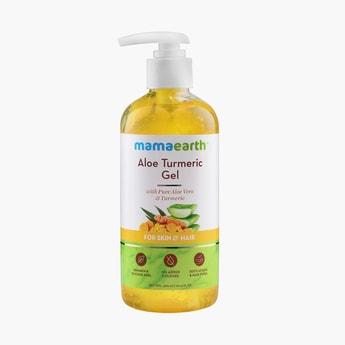 MAMAEARTH Aloe Turmeric Gel For Skin & Hair- 300ml