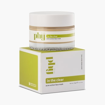 PHY In The Clear Acne-Action Face Mask