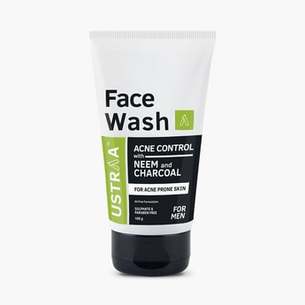 USTRAA Face Wash - Neem & Charcoal