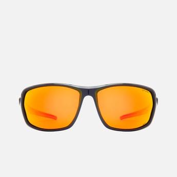 OPIUM Men Solid Polarized Rectangle Sunglasses- OP-1808-C04