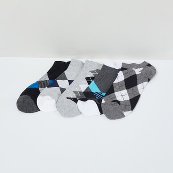 MAX Checked Colourblock Socks - Pack of 5 Pcs.
