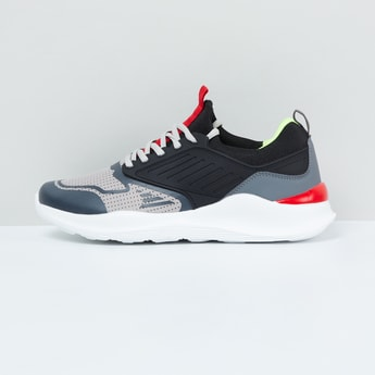 MAX Colourblock Lace-Up Sports Shoes