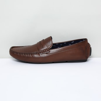 MAX Laser Cut Penny Loafers