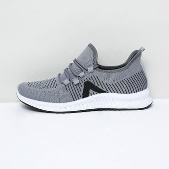 MAX Striped Mid-Top Casual Shoes
