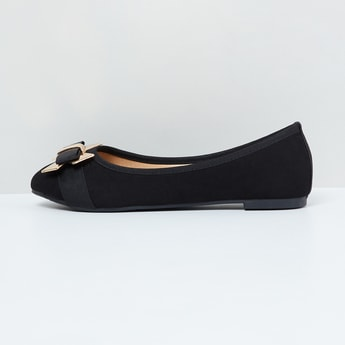 MAX Bow Detailed Ballerina Flats