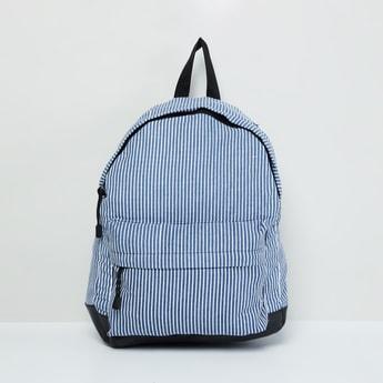 MAX Striped Colourblock Backpack