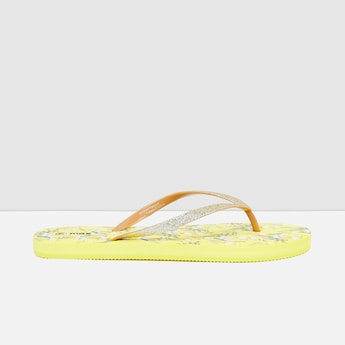 MAX Printed V-strap Flip-Flops