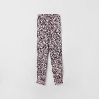 MAX Animal Print Elasticated Pants