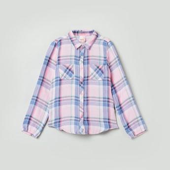 MAX Checked Full-Sleeves Shirt