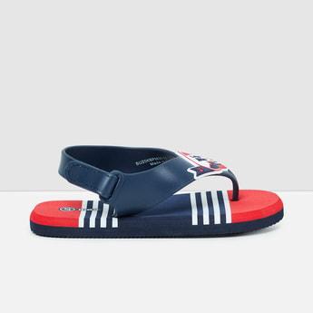 MAX Printed Sandals