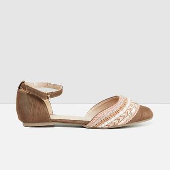MAX Embellished Flat Sandals