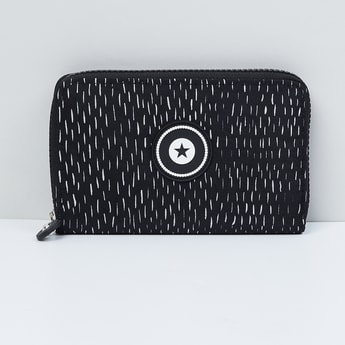 MAX Textured Zip-Closure Wallet