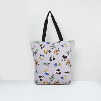 MAX Printed Zip-Closure Tote Bag