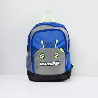 MAX Printed Zip-Closure Backpack