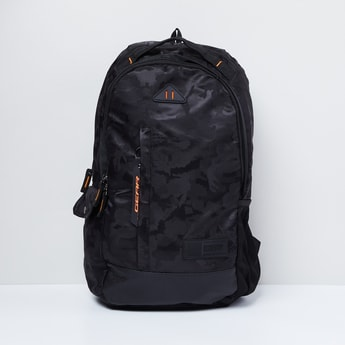 MAX Camouflage Print Laptop Backpack