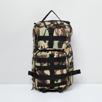 MAX Camouflage Print Travel Backpack