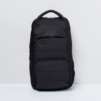 MAX Solid Padded Laptop Backpack