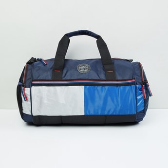 MAX Colourblocked Gym Bag with Straps