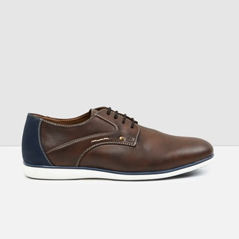 MAX Solid Casual Derby Shoes