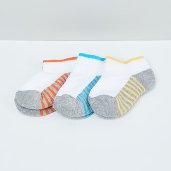 MAX Striped Socks- Pack of 3