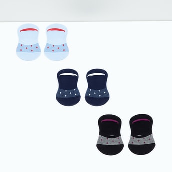 MAX Patterned Knitted Footies - Pack of 3