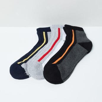 MAX Striped Socks-Set of 3
