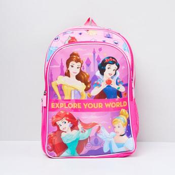 MAX Disney Princess Print School Backpack