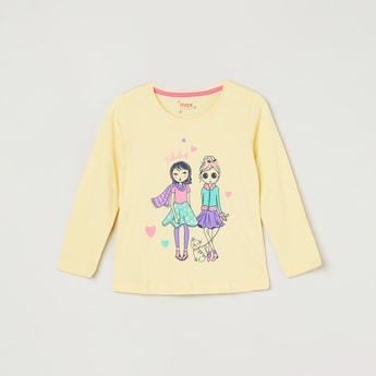 MAX Graphic Print Full Sleeves T-shirt