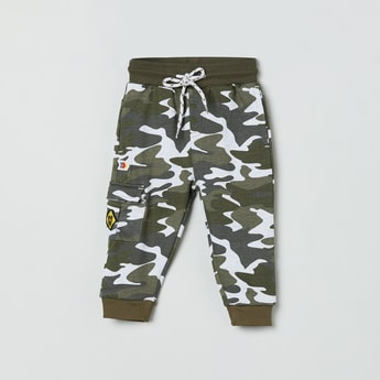 MAX Camouflage Print Elasticated Joggers