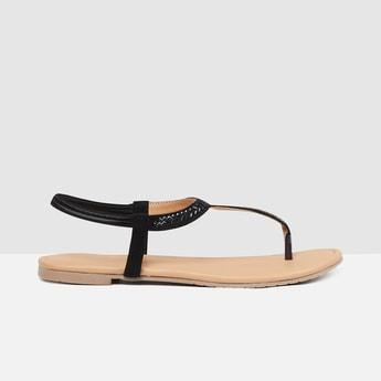 MAX Braided Detail Slingback Strap Flats