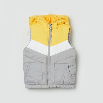 MAX Colorblocked Hooded Jacket
