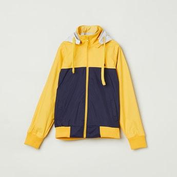 MAX Colourblocked Full Sleeve Bomber Jacket