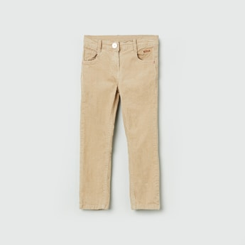 MAX Textured 5-Pocket Trousers
