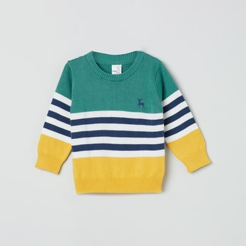 MAX Colourblocked Sweater