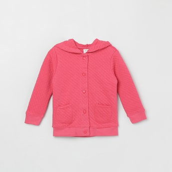 MAX Hooded Quilted Sweatshirt