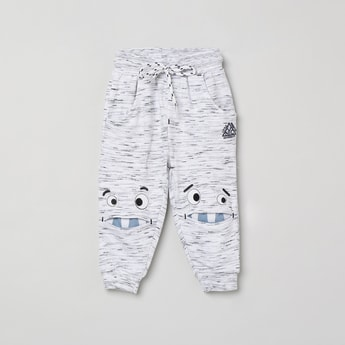 MAX Embroidered Full-Length Joggers