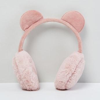 MAX Fuzzy Bunny-Ear Ear Muffs